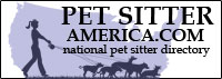 Pet Sitter America, a national pet sitting directory
